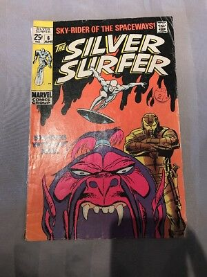 """The Silver Surfer - Vol. 1 #6 1969 """"Worlds Without End"""""""