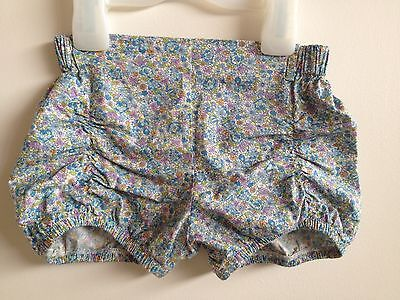 Lacey Lane wren pucker bloomers girls shorts size 3 and matching suspenders