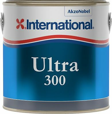 International Ultra EU 2,5Lt Rouge YBB701 Antifouling à matrice dure de forte pu