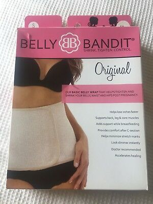 Belly Bandit Original Support Belt Belly Wrap Nude Small