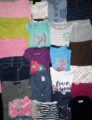 Huge Toddler Girls Clothes Lot...size 24 months and 2T....Excellent Condtion!