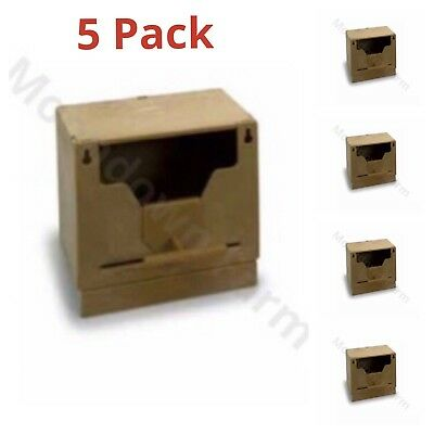 Plastic Finch Nest Box - Finch Nest Box with Hooks - 5 PACK
