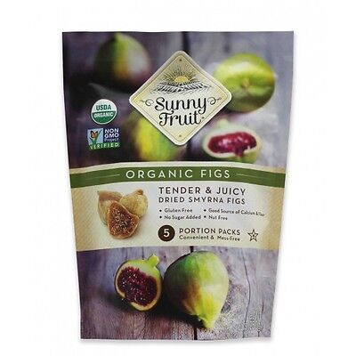 1Kg Organic Dried Smyrna Figs - Sunny Fruit - free uk delivery No Added Sugar