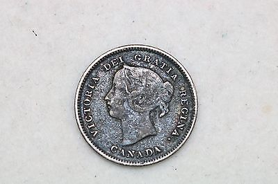 1 Newfoundland 10 Cent + 3 Canada 5 Cents-All Silver