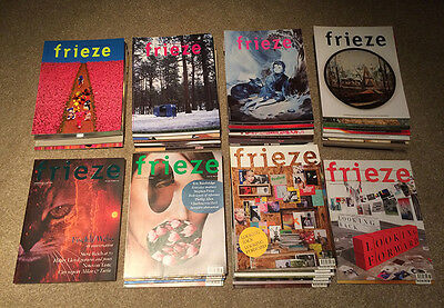 44 issues of 'frieze' art magazine