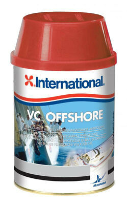 International VC Offshore EU 0,75 Lt Noir YBB713 Antifouling performant à matric