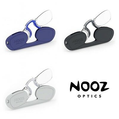 Nooz Optics Keychain Compact Reading Glasses Rectangle Rimless - NEW