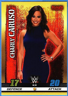 Topps Slam Attax 10th Edition Tradingcard #92 Charly Caruso
