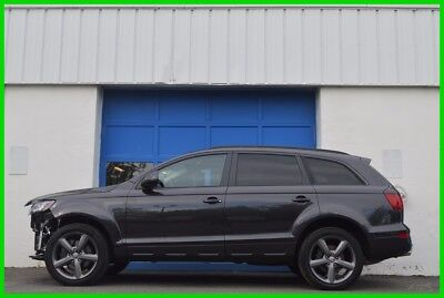2015 Audi Q7 3.0T Premium Plus Repairable Rebuildable Salvage Lot Drives Great Project Builder Fixer Easy Fix