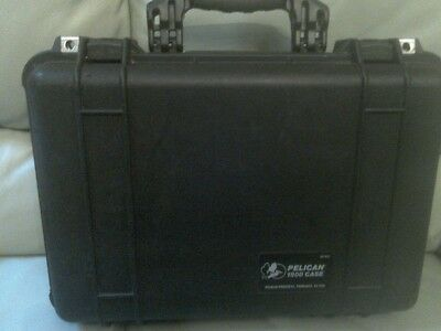 Pelican 1500 Black Hard Case.