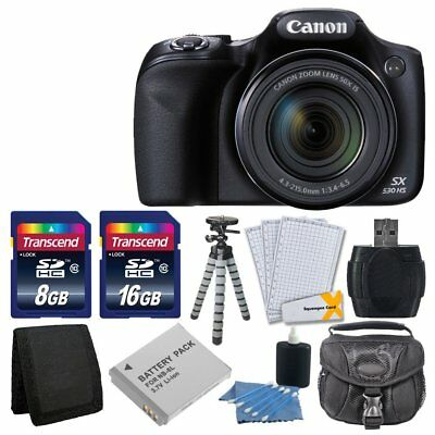 Canon PowerShot SX530 HS Digital Camera with 50x Optical Image Stabilized Zoom