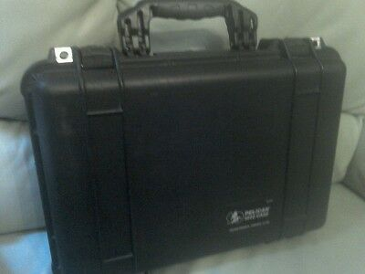 Pelican 1500 Black Hard Case .
