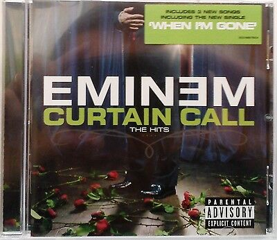 Attractive Eminem   Curtain Call: The Hits (CD 2005) + 3 New Songs U0026