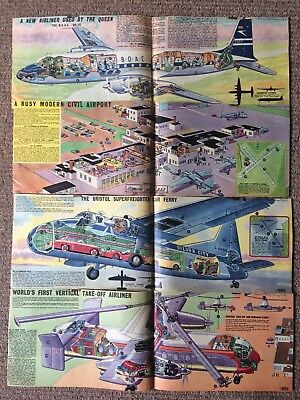 Eagle Comic Cutaways 23 In Total Dating From 1957