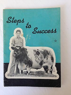 Steps to Success- The Shorthorn Club- Booklet- cattle