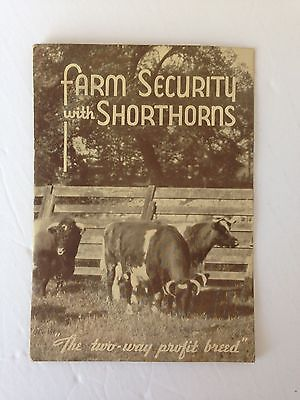 Farm Security with Shorthorns- Booklet