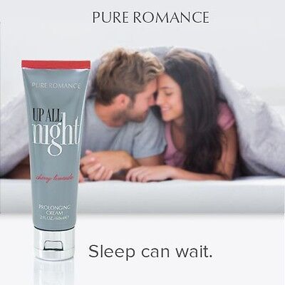 Pure Romance, Up All Night😉 Kissable Prolonging Cream, 60ml, Cherry Limeade.💖