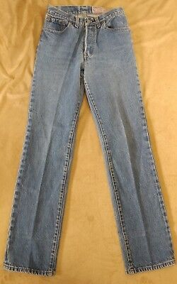 80S Vintage Levi's  Jeans 30x36 26501-0118 Button Fly WOMENS
