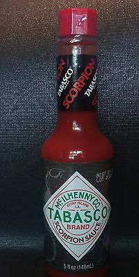 **RARE**  1 IN STOCK & 1 PRE-ORDER!  1 EACH ! McIlhenny Tabasco SCORPION SAUCE