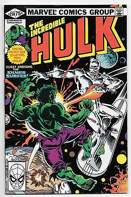 The Incredible Hulk #250 - Marvel 1980 - DOUBLE SIZED Silver Surfer - VF/NM