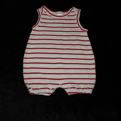 Baby Gap Unisex Bubble Romper Jonjon Newborn Euc 100 % Cotton