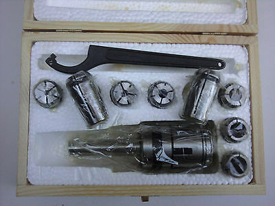 Collet Chuck set for Milling Machine -- MT2
