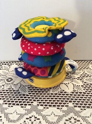 Chicco Musical Stack Game/Toy/Puzzle For Baby/Toddler - 6-24 Months