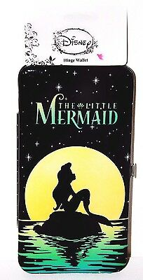 Disney Little Mermaid Ariel Night Hinge Wallet by Loungefly @ Hot Topic