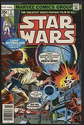 Star Wars 5 9.0 VF/NM Episode IV - A New Hope movie adaption