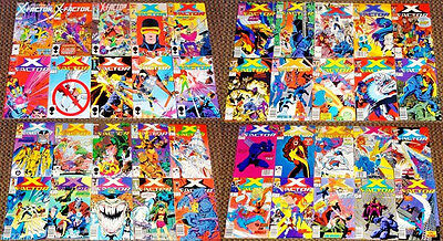 Marvel Comics 1986 Series X-Factor #1-56 Collection 40-Issue Vf Lot X-Men Movie