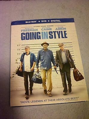 Going in Style (2017)--DVD + HD Digital Code***PLEASE READ FULL LISTING***