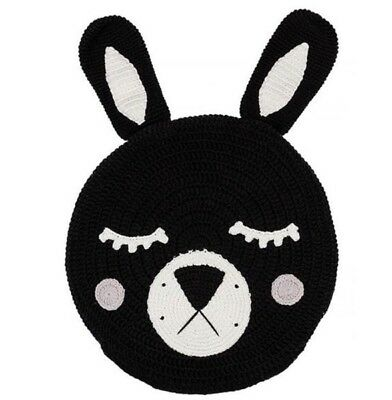 Miann And Co Snuggle Cushion -Black Bunny BNWT
