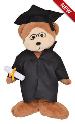 Graduation Bear Brains the Beanie Kid Large 40cm/16""