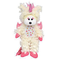 Beanie Kids Leila the Unicorn Bear NEW Size: 20cm Genuine Licensed Product