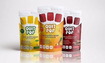 Nautral Stop Smoking Remedy / Quit Smoking Aid / By QuitPop