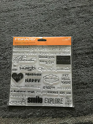Scrapbooking Clear Stamps