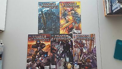 Transformers: Target 2006 #1,2,3,4,5  Idw Mini Series