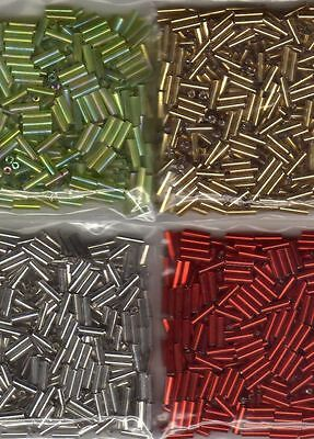 ***New 2000 x 6mm Bugle Beads**CLEARANCE #2***