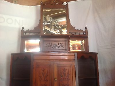 Vintage French Chiffonier  Sideboard Dresser Cabinet Shabby Chic Project