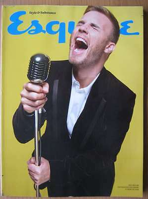 Esquire January 2012 Gary Barlow Magnus Carlsen Douglas Booth Trainers