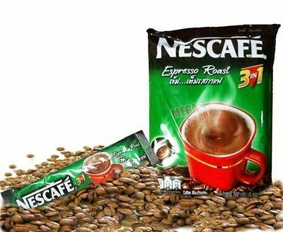 9 sticks NESCAFE Espresso Roast 3 IN 1 Taste Instant COFFEE Drink Mix Powder