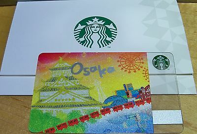 Starbucks Card Japan 2012 Osaka City Card With Sleeve 6095 Series Free Shipping