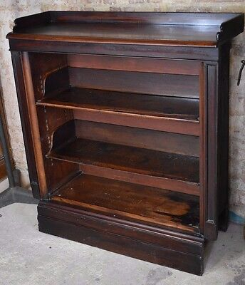 Antique Mahogany Shop Fittings Bookcase Display Cabinet Decorative Unusual