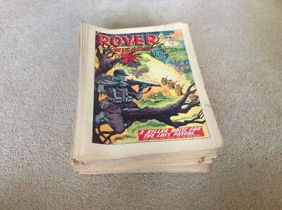 Rover and Wizard Comics 1965 52 Issues