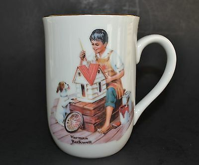 Norman Rockwell Museum cup/mug:  A Dollhouse for Sis