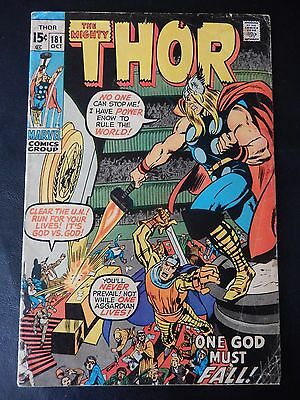 Marvel Comics - The Mighty Thor Comic Book - No. 181 - June 1970