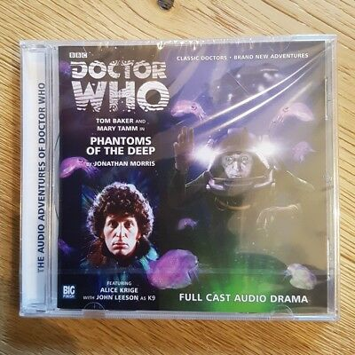Doctor Who : Phantoms of the Deep by Jonathan Morris Audio book CD NEW sealed
