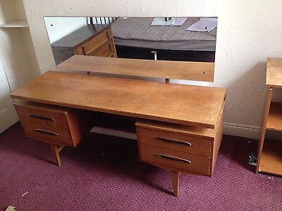 G-Plan Teak Dressing Table with Floating Top