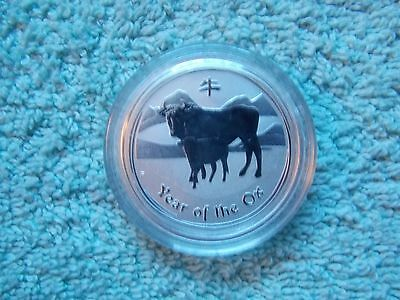 2009 Australian Silver OX Lunar Series II BU 1/2 OZ (new from roll of 20)