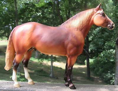 Breyer Model Horse and Horse Statue - Lot of 2
